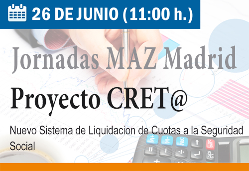 Evento maz for Tesoreria general de la seguridad social zaragoza