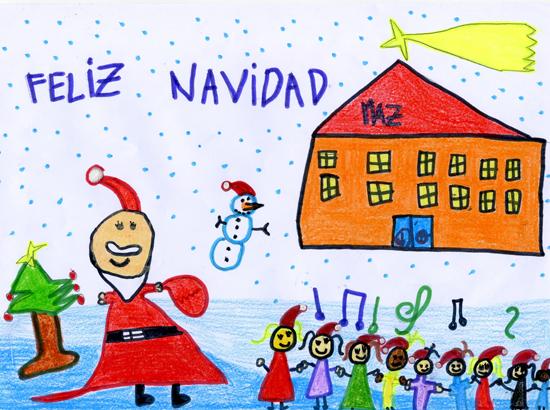 Concurso postales navide as - Dibujos tarjetas navidenas ...